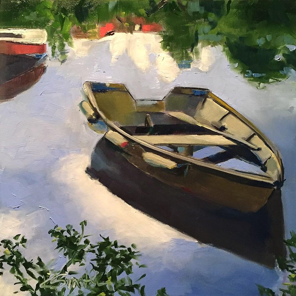 """""""adrift"""" original fine art by Kim Smith"""