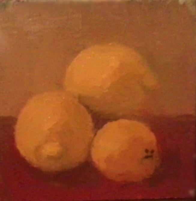 """Lemons"" original fine art by Fred Medley"