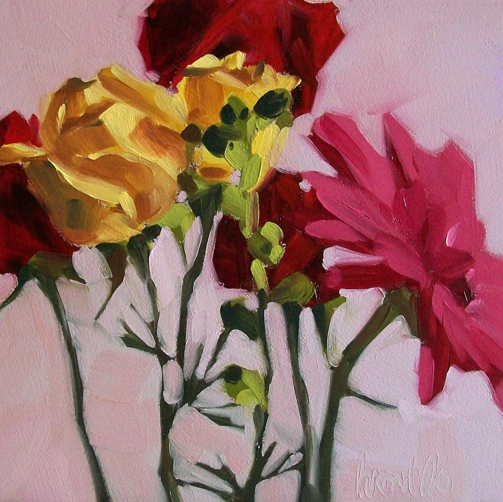 """Flower show"" original fine art by Brandi Bowman"