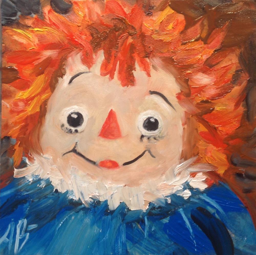"""A Raggedy Doll"" original fine art by Annette Balesteri"