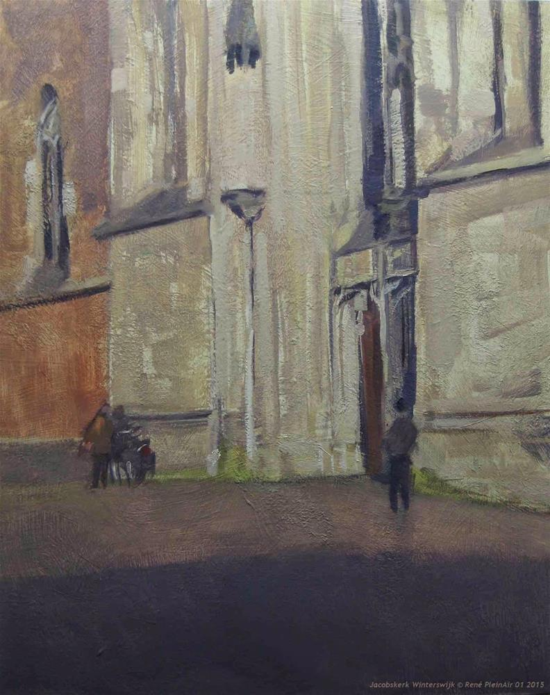 """One other from last Wednesday Winterswijk, The Netherlands"" original fine art by René PleinAir"