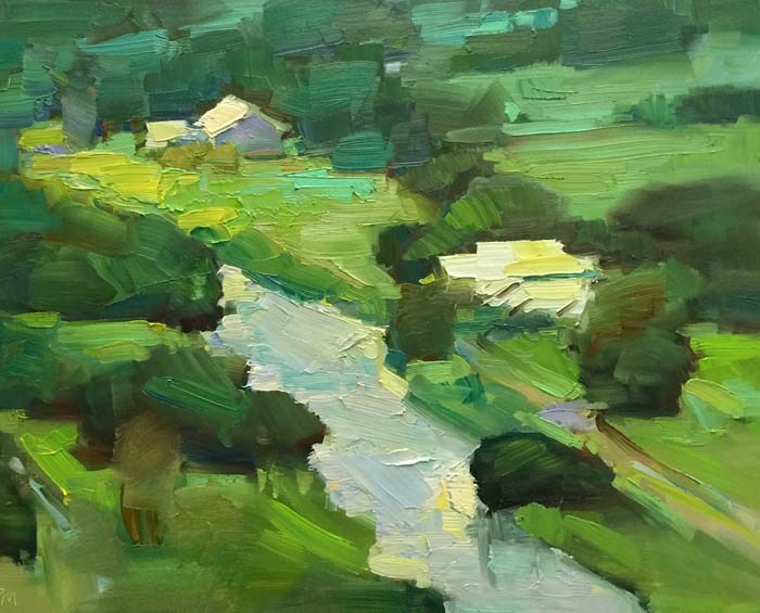"""Kauai Farmland"" original fine art by Patti McNutt"