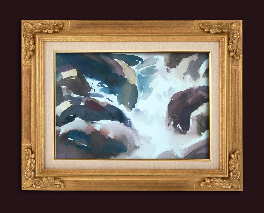 """""""Symphony In Blue - Study"""" original fine art by Stephen Ravenscraft"""
