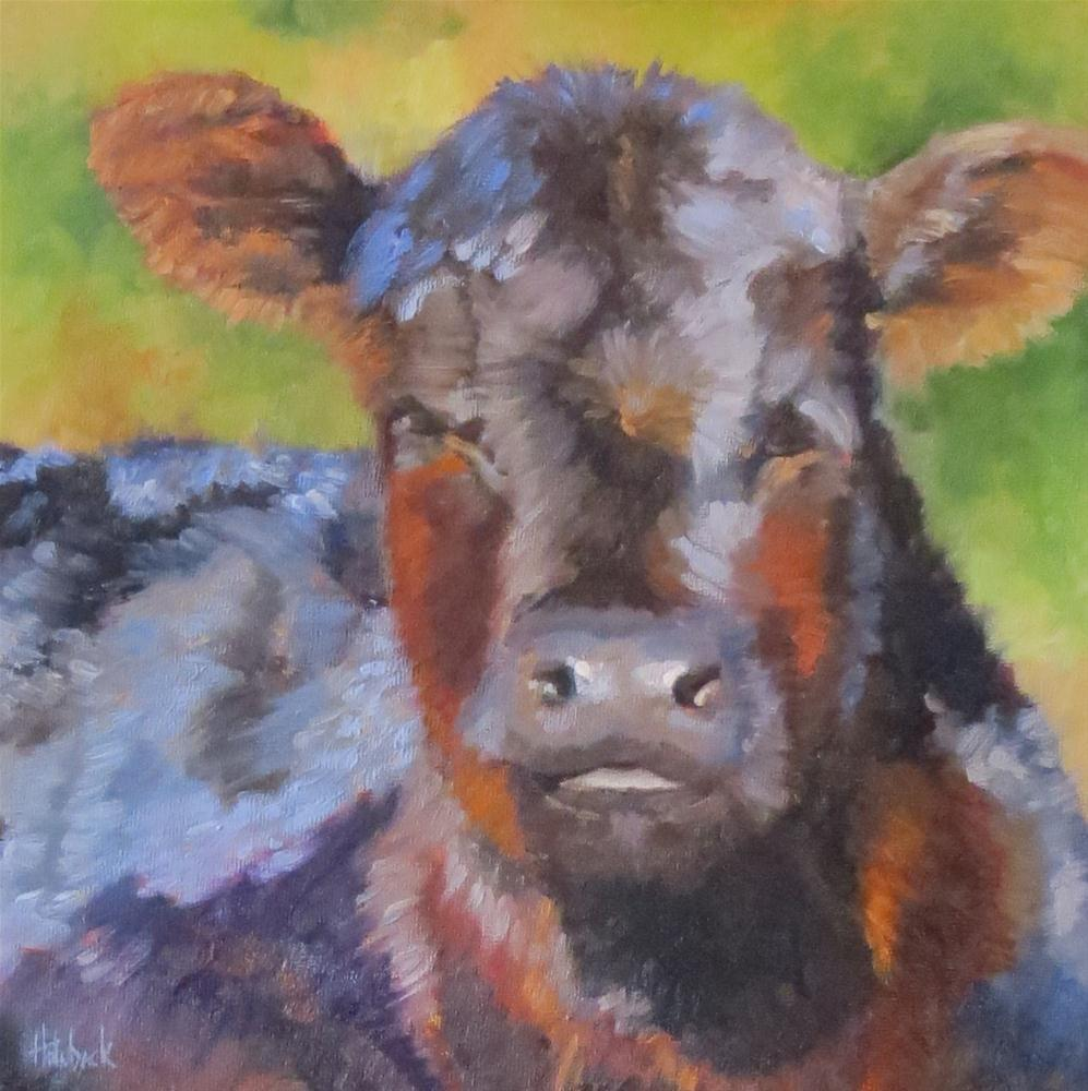 """Lucy...and other news"" original fine art by Pam Holnback"