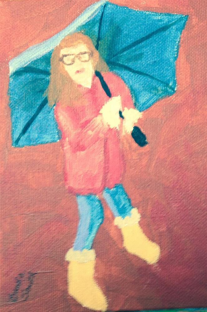 """""""Prepared!"""" original fine art by Brenda Smith"""