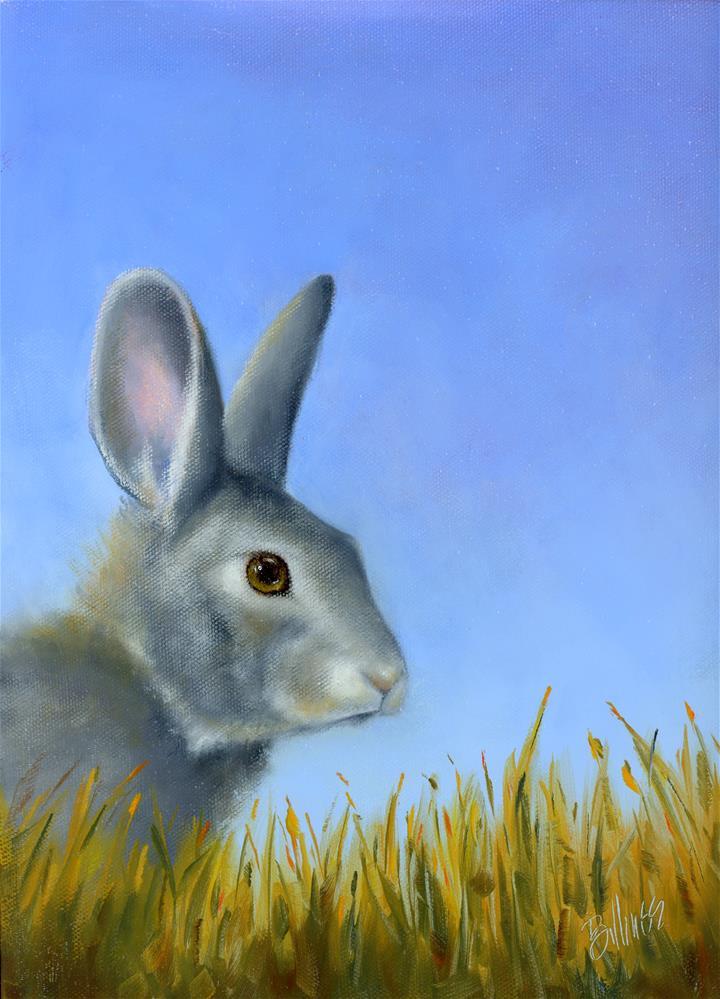 """Hare Apparent II"" original fine art by Susanne Billings"