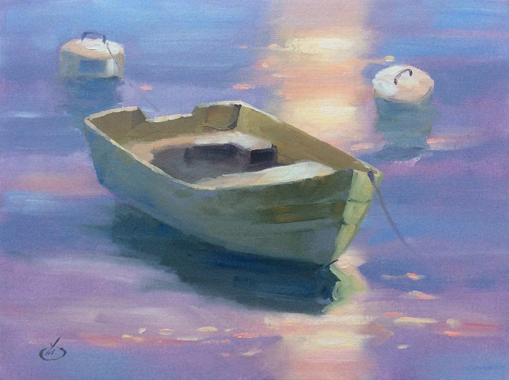 """AT REST"" original fine art by Tom Brown"