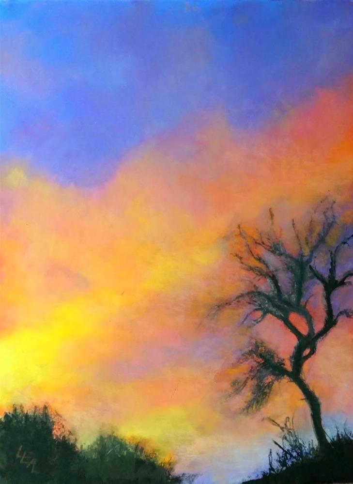"""One Day Past Solstice"" original fine art by Anna Lisa Leal"