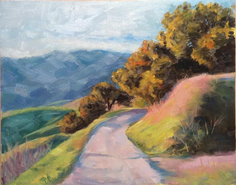 """Road To Big Sir"" original fine art by wendy black"