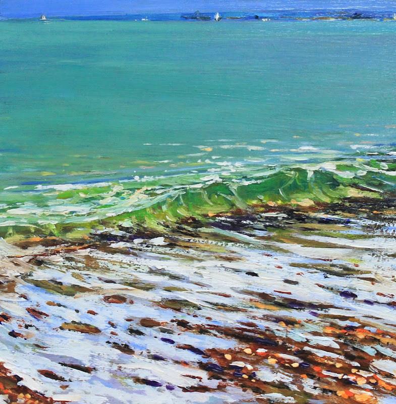 """""""Southsea Side"""" original fine art by Ken Devine"""