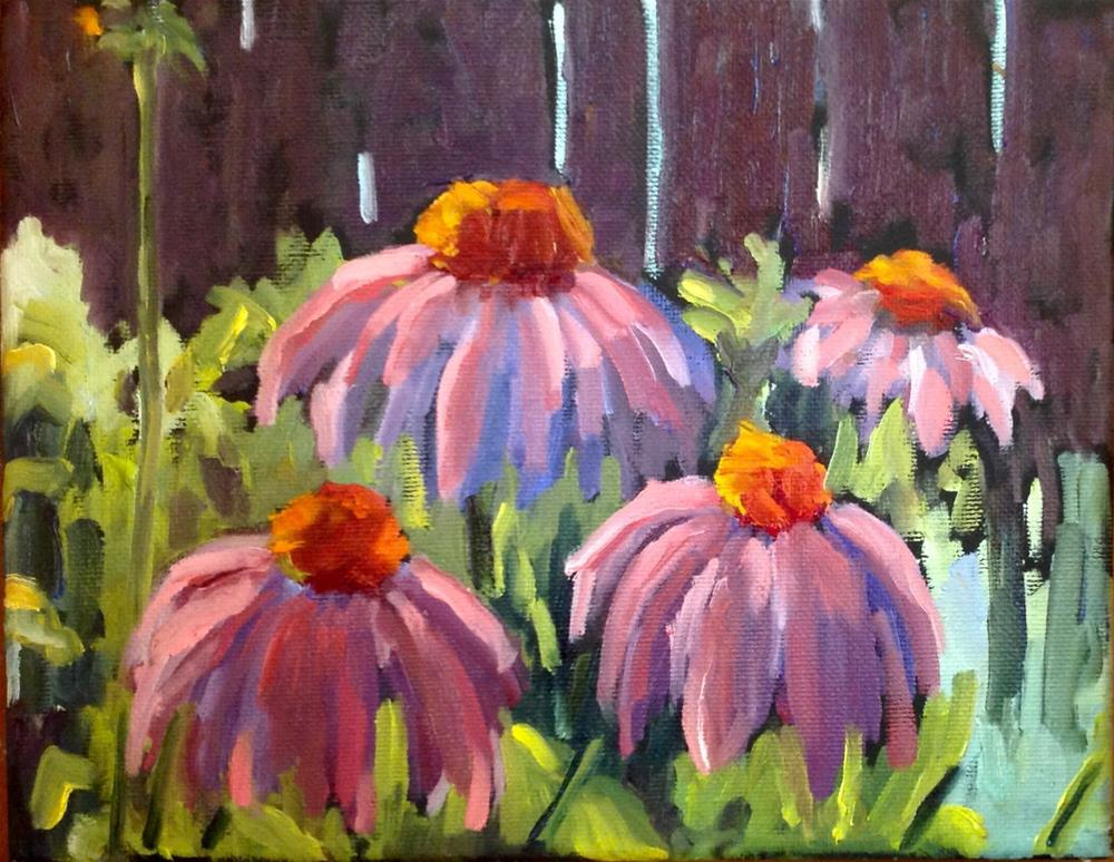 """Flower Study"" original fine art by Wanda Lowery"