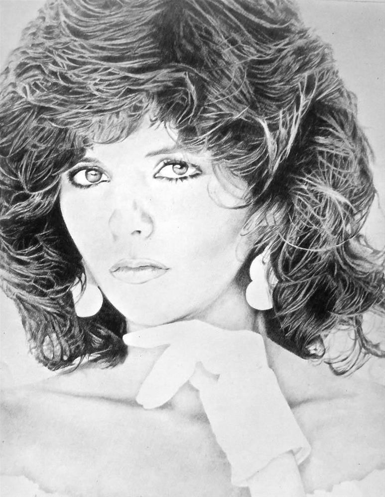 """Portrait, 16x20 Pencil Drawing, Graphite on Paper"" original fine art by Carmen Beecher"