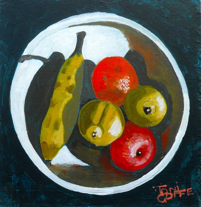 """Your 5-a-day"" original fine art by Toni Goffe"