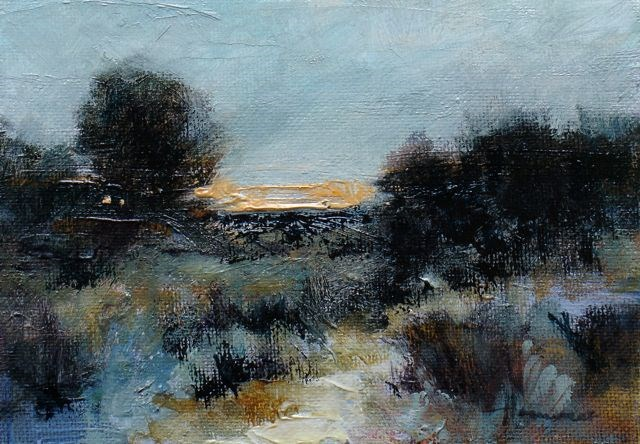 """Sunset#3"" original fine art by Susan Hammer"