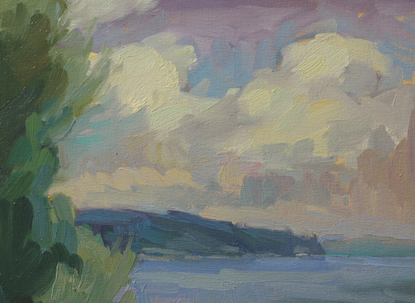 """After a Squall"" original fine art by Kathryn Townsend"