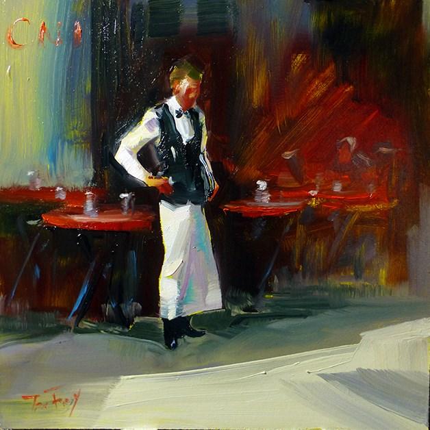 """garcon"" original fine art by Jurij Frey"