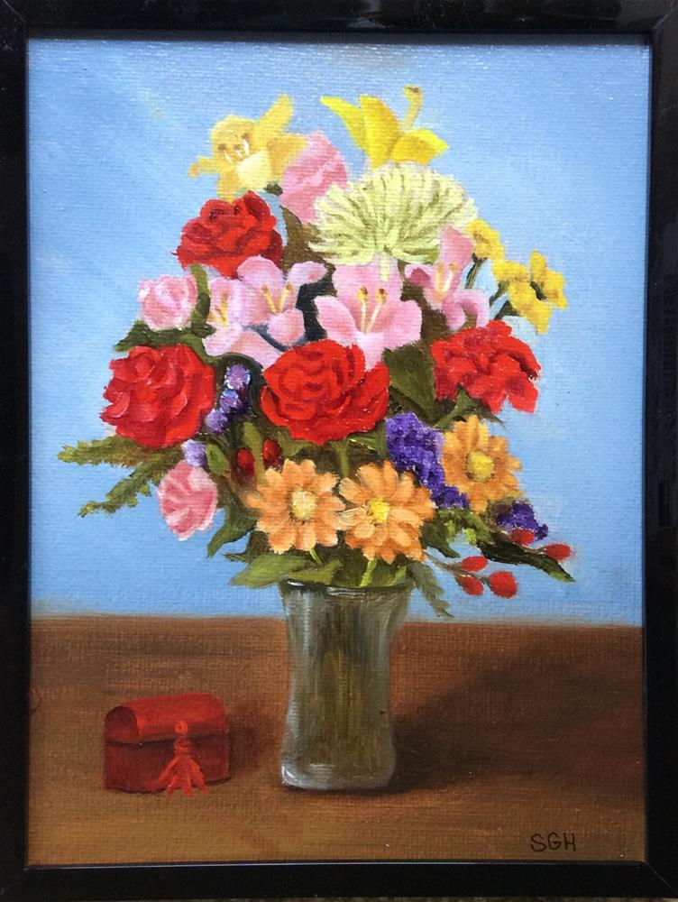 """Get Well Soon!"" original fine art by Susan Hoffheimer"