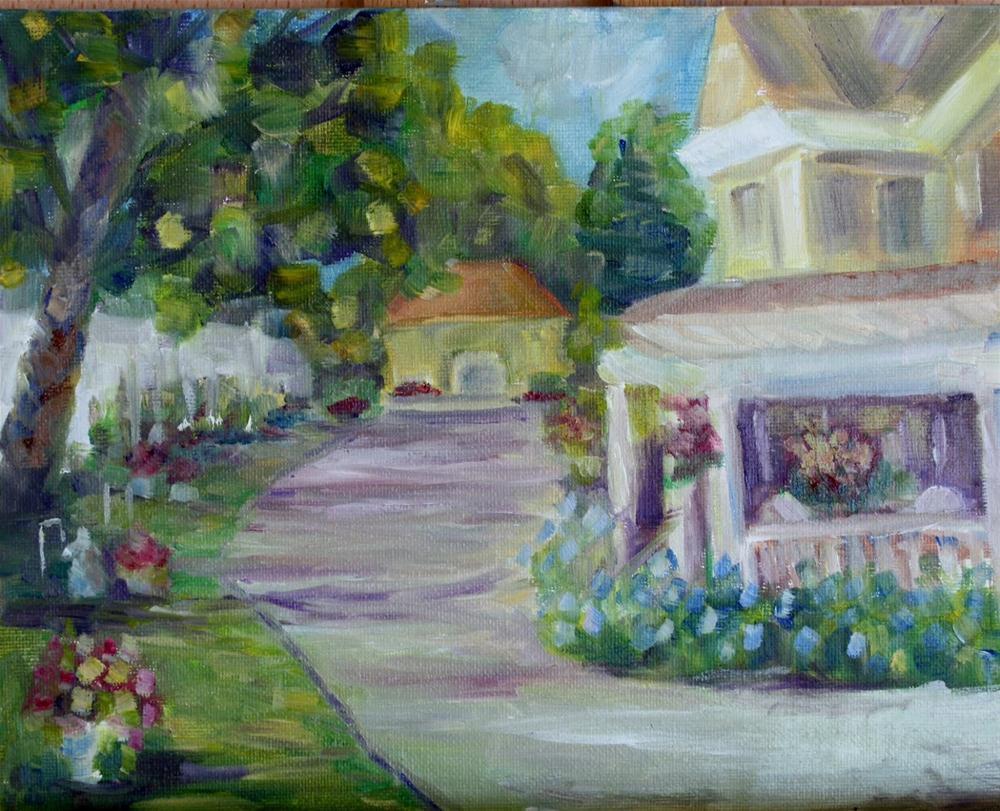 """""""Cropping challenge"""" original fine art by Maggie Flatley"""