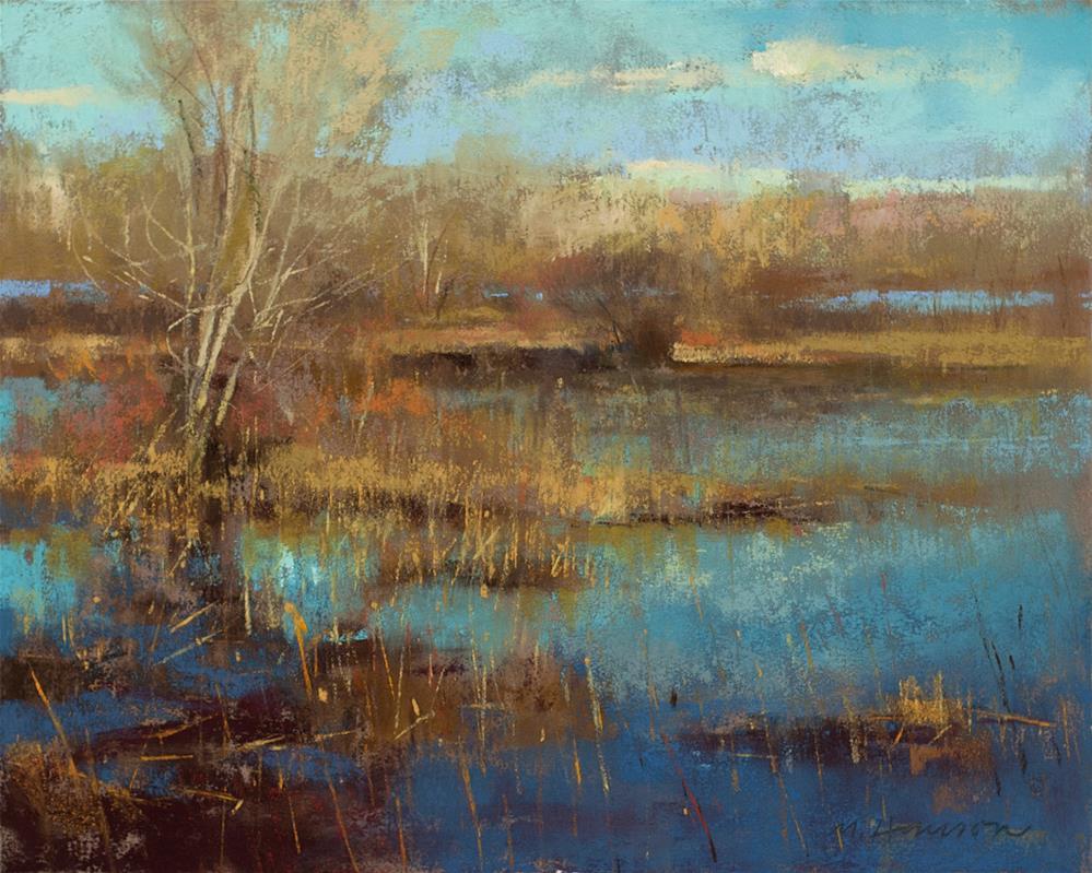 """2-28-1 Habitat 1"" original fine art by Marc Hanson"