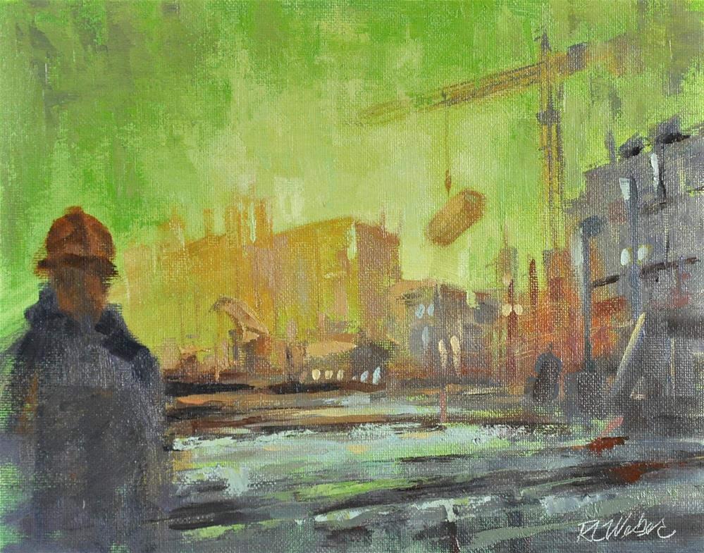 """""""Construct!"""" original fine art by Rl Weber"""