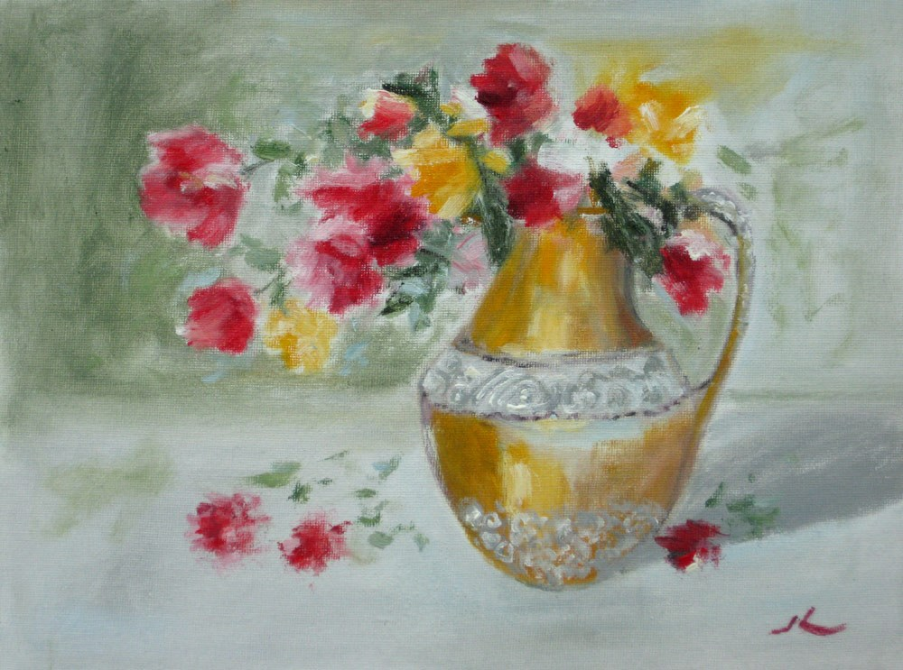 """Old Jar"" original fine art by Julia Lu"