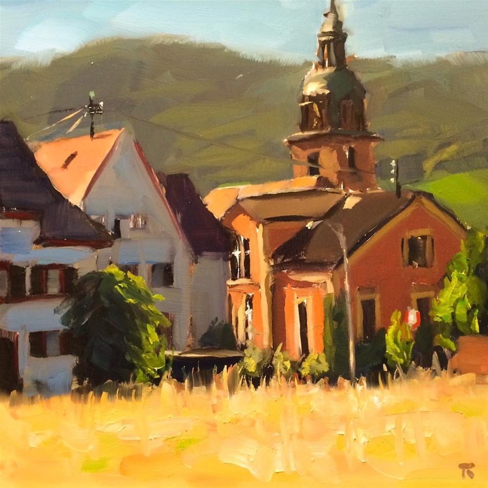 """Hainfeld"" original fine art by Thomas Ruckstuhl"