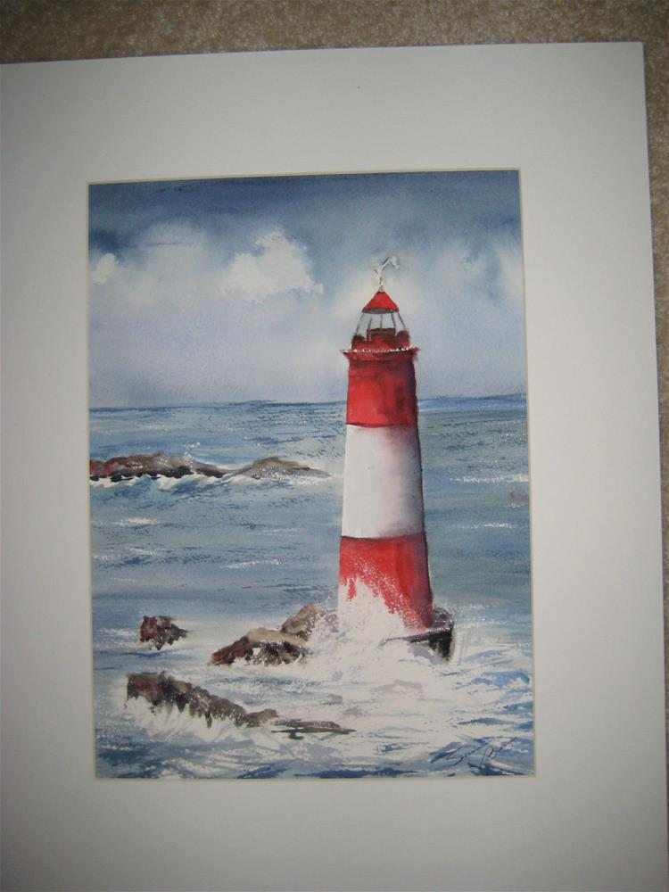 """Lighthouse"" original fine art by Susan Brens"