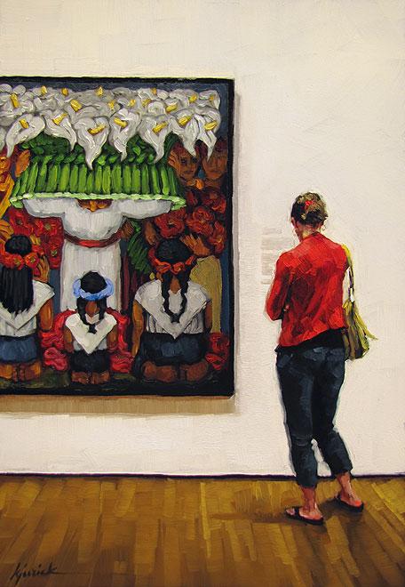 """Feast For the Eyes"" original fine art by Karin Jurick"