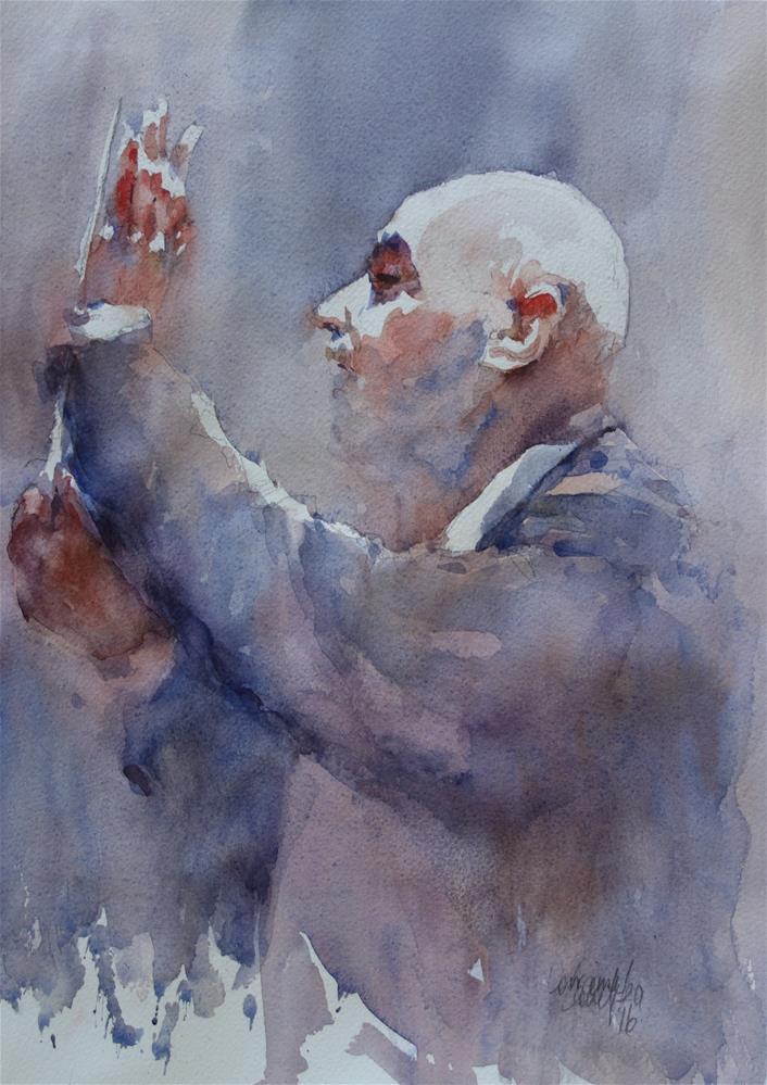 """Maestro"" original fine art by Lorraine Lewitzka"