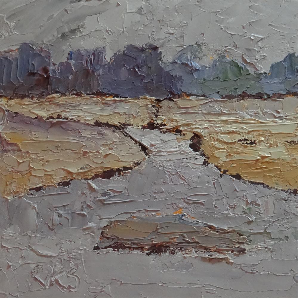 """""""Winter Tide"""" original fine art by Roxanne Steed"""
