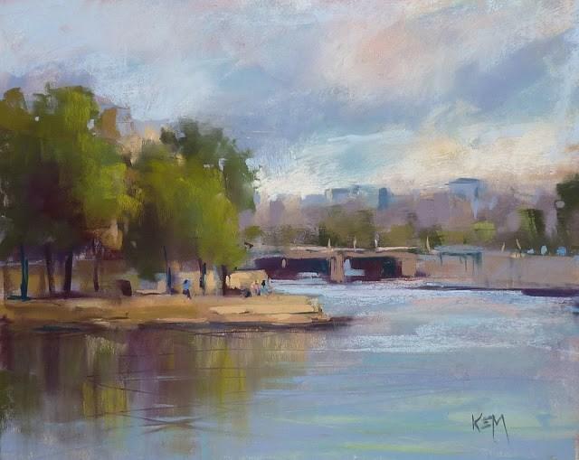 """Painting Paris: Impressions of France"" original fine art by Karen Margulis"
