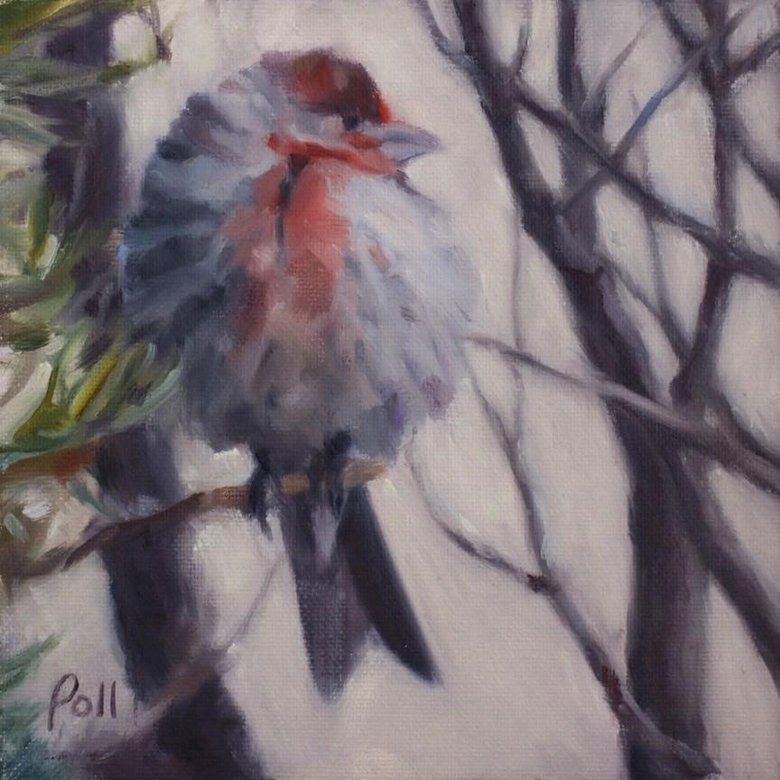 """Warm and Foofy"" original fine art by Pamela Poll"