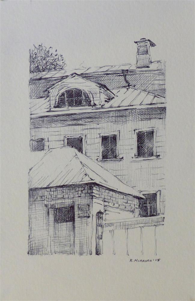 """oldmoscow2"" original fine art by Katya Minkina"