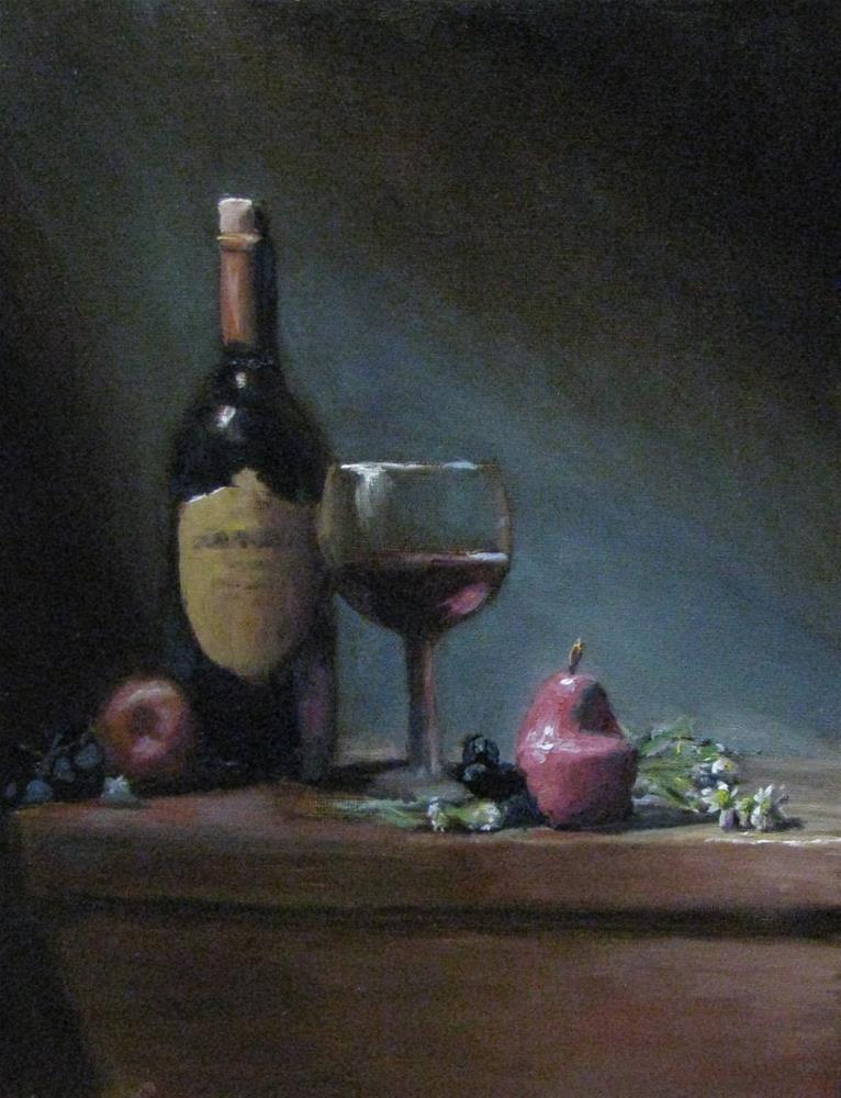 """""""A time to relax"""" original fine art by tom dawson"""