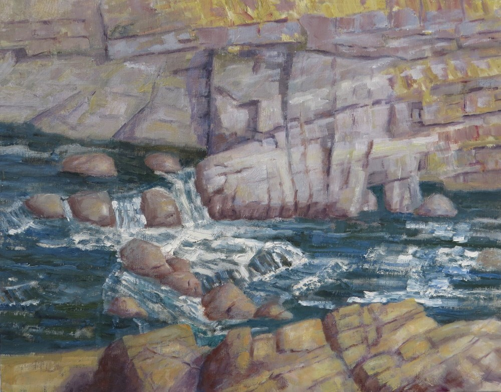 """Stanislaus River"" original fine art by Richard Kiehn"