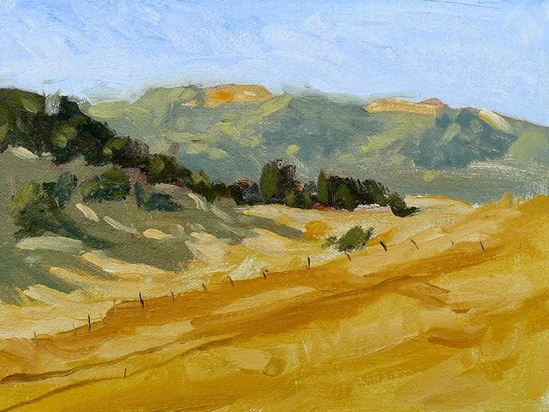 """""""El Dorado Hills"""" original fine art by Adam Houston"""