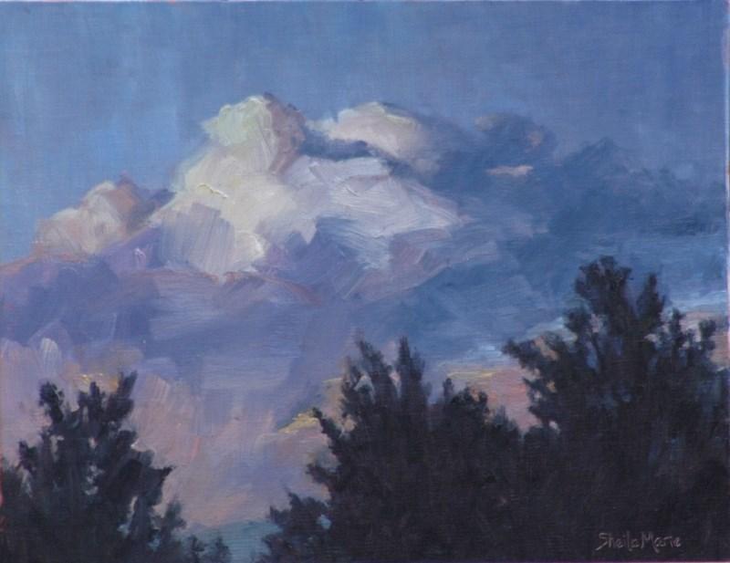 """Sunset Notes"" original fine art by Sheila Marie"