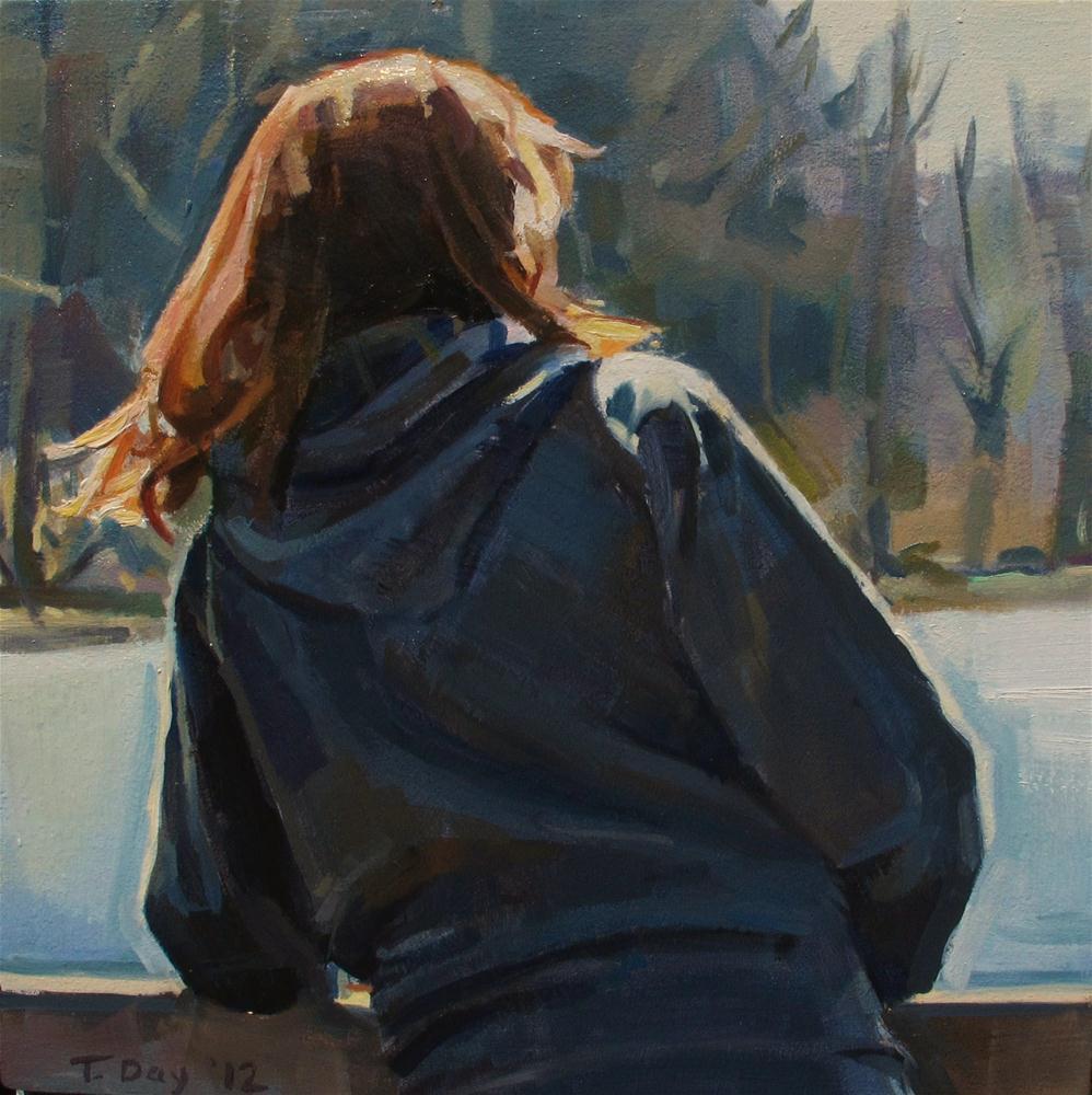 """""""A Warm March"""" original fine art by Taryn Day"""