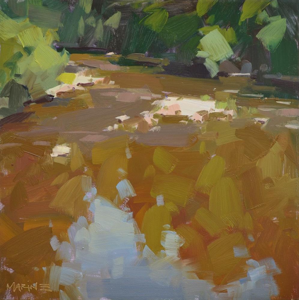 """John Day River"" original fine art by Carol Marine"