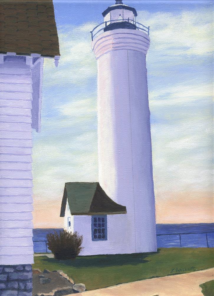"""Tibbetts Point"" original fine art by Lynne Reichhart"