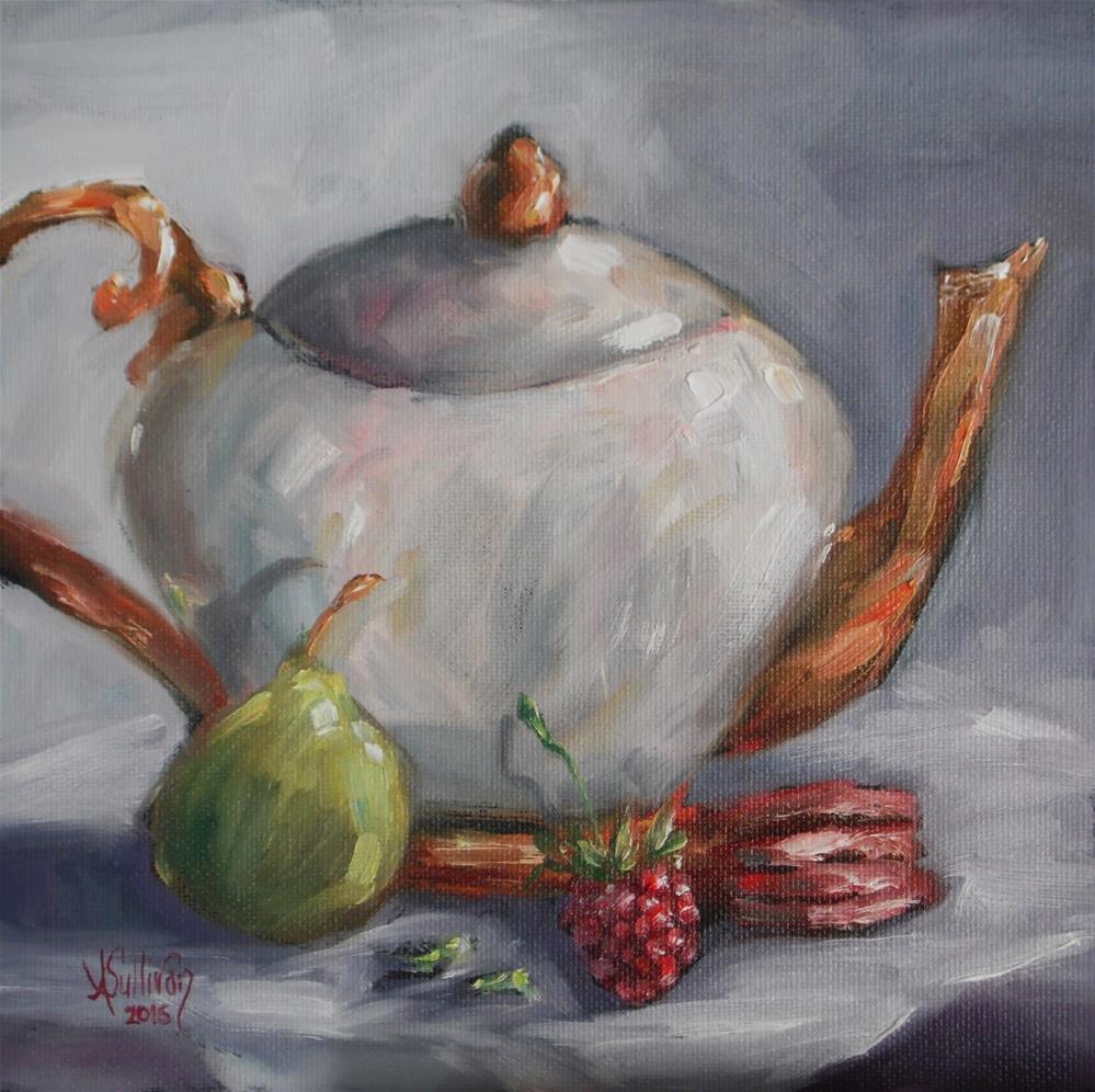 """""""That Is One Very Good Cookie by Alabama Artist Angela Sullivan"""" original fine art by Angela Sullivan"""