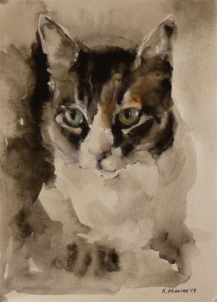 """Commission"" original fine art by Katya Minkina"
