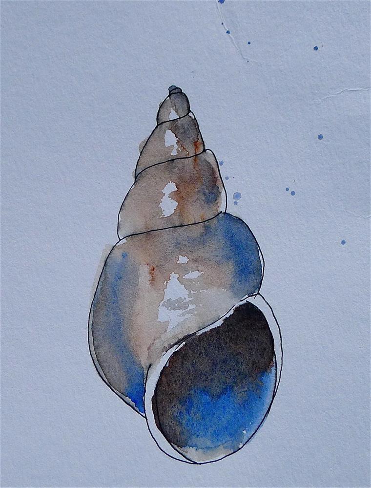 """""""Shell"""" original fine art by Ulrike Schmidt"""