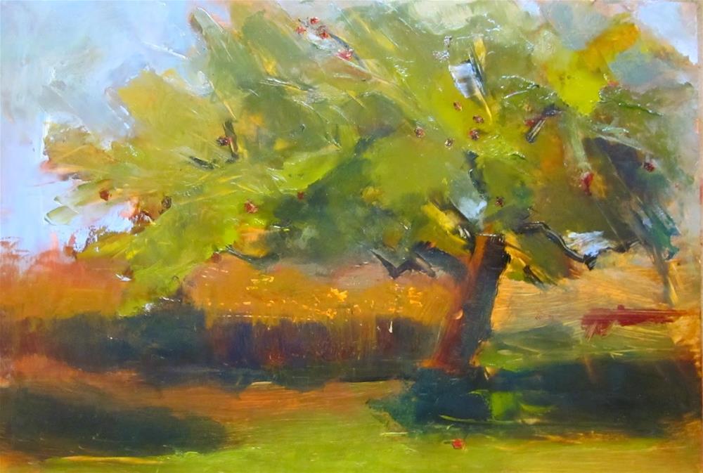 """Blustery Day"" original fine art by Carol Wiley"