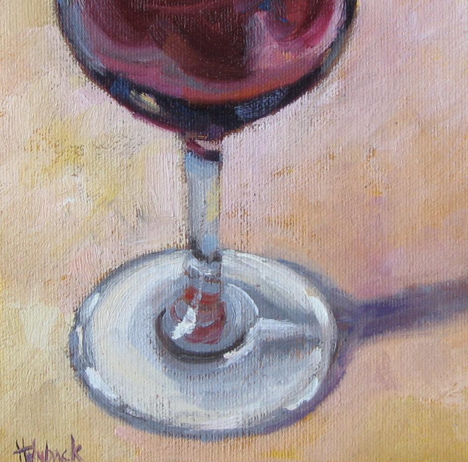 """A Nice Merlot"" original fine art by Pam Holnback"
