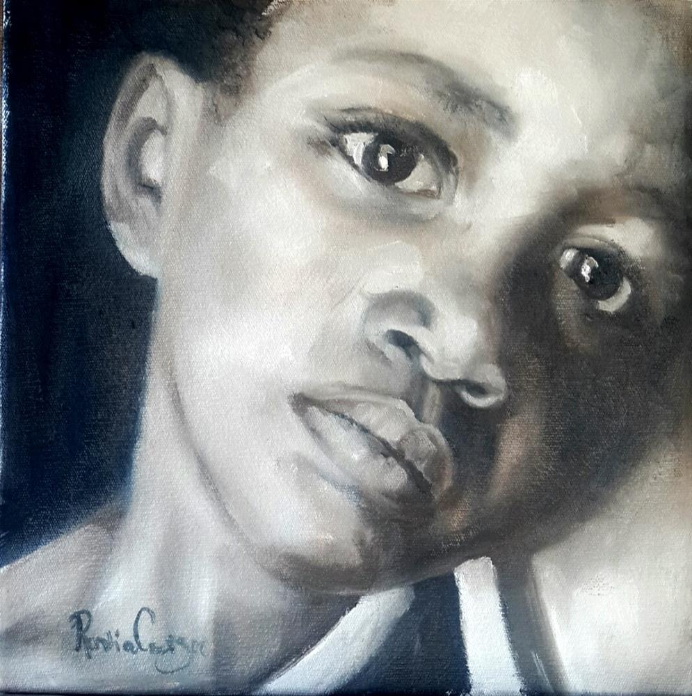 """Haunted"" original fine art by Rentia Coetzee"