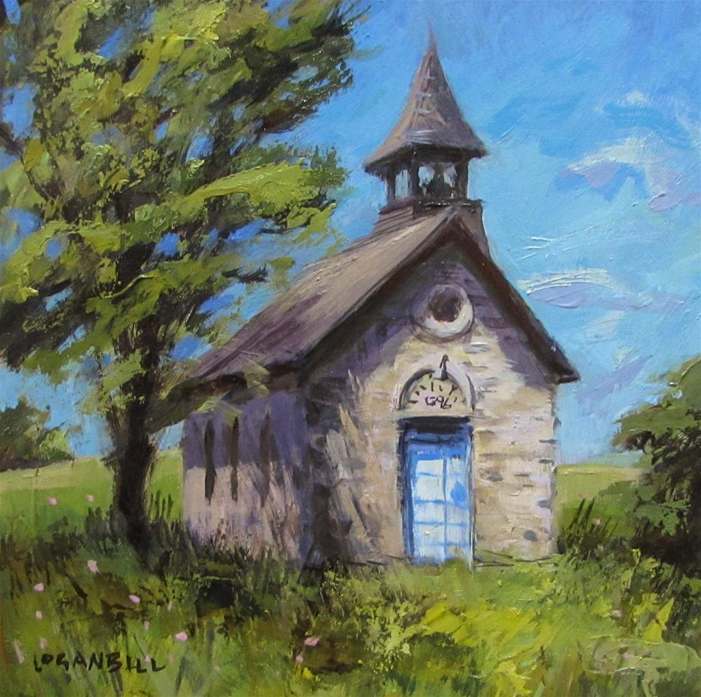 """The Bichet School "" original fine art by Joseph Loganbill"