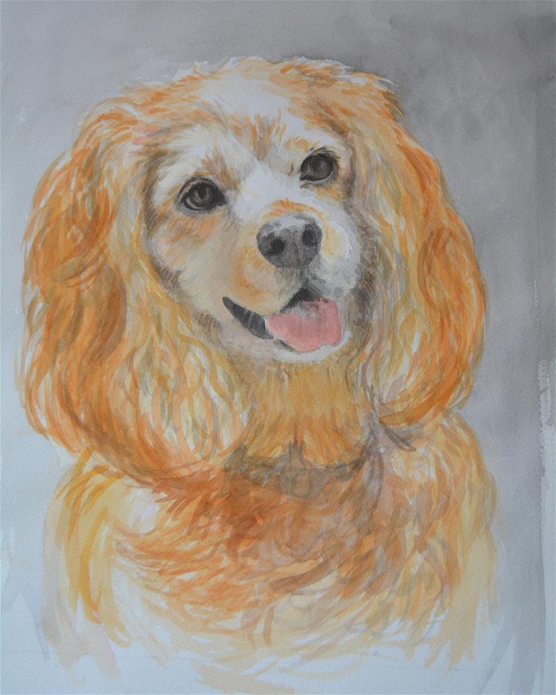 """Bailey"" original fine art by Cindy McDonough"