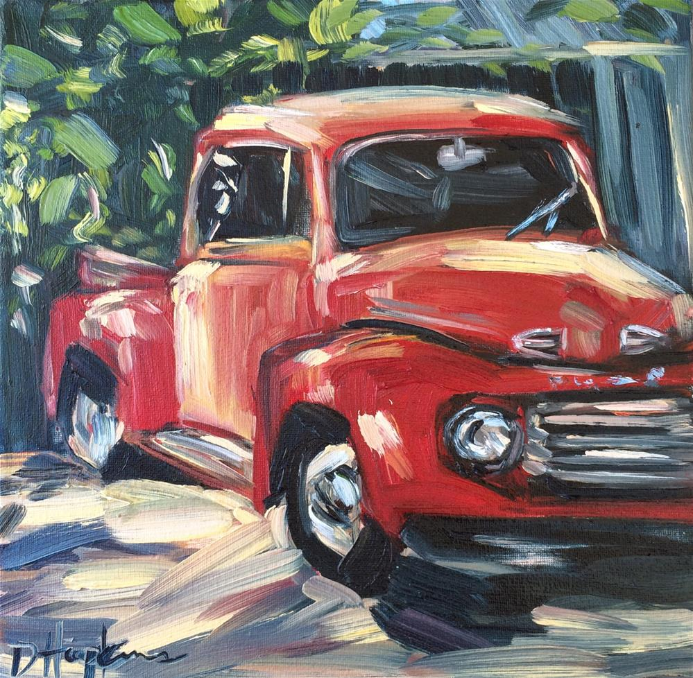 """Paw Paw's Truck"" original fine art by Denise Hopkins"