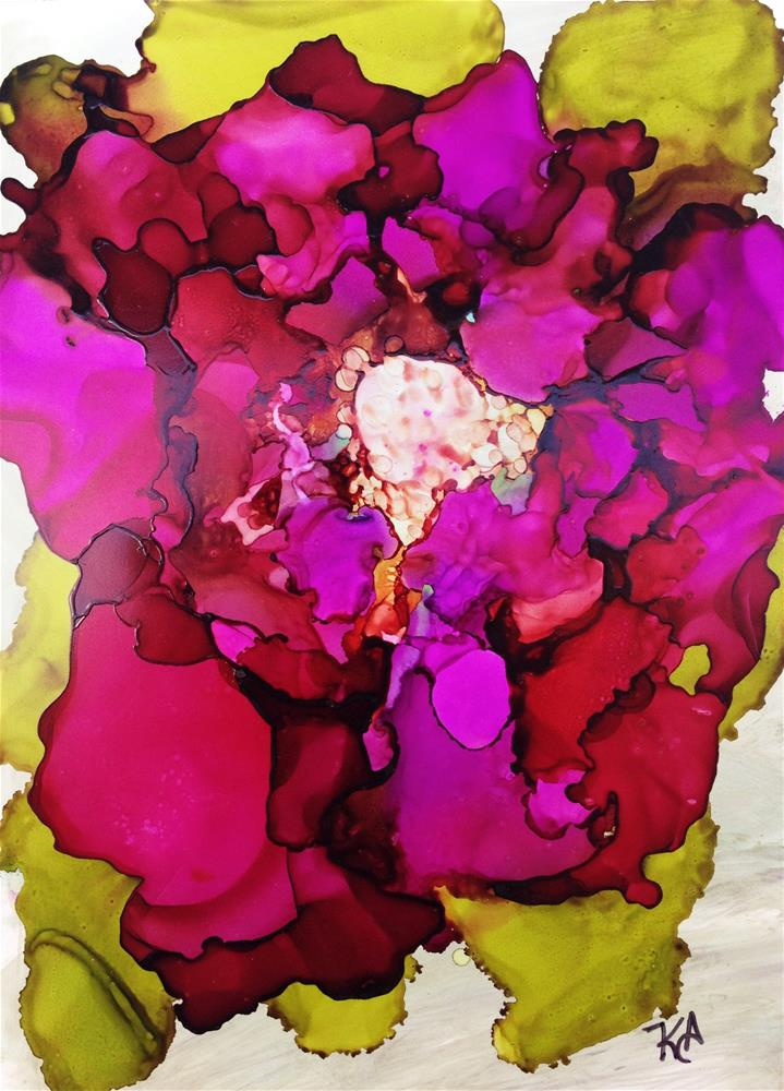 """Peony"" original fine art by Kris Alge"